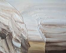 "78.1, 16""x20"" acrylic and texture on canvas"