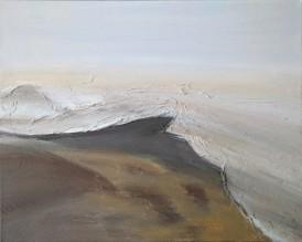 "78.3, 16""x20"" acrylic and texture on canvas"