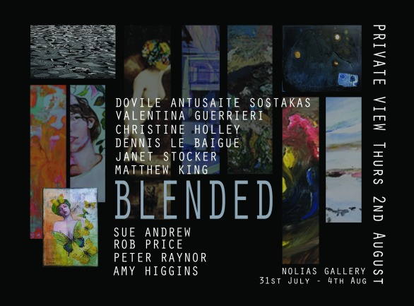 """BLENDED"" - Nolia's Gallery 31 July - 4 August 2018"