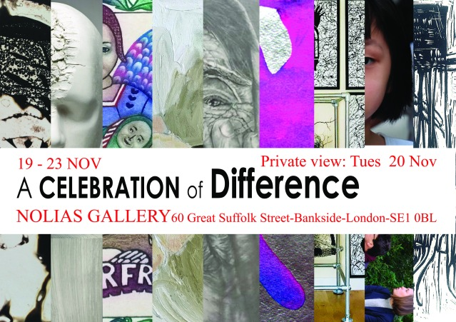 """CELEBRATION OF DIFFERENCE"", Group Show, November 2018"